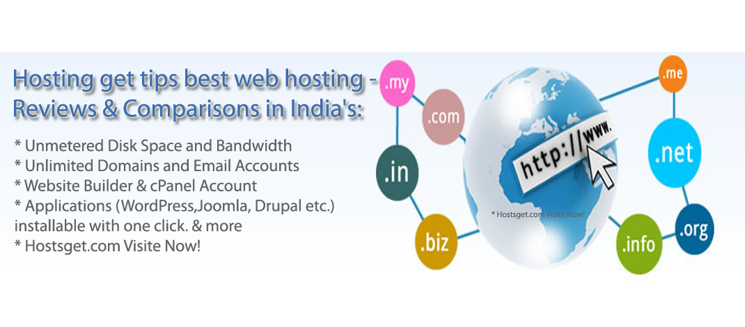 Top 10 best tips web hosting services in India